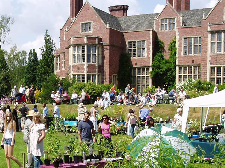 University of Leicester botanic garden