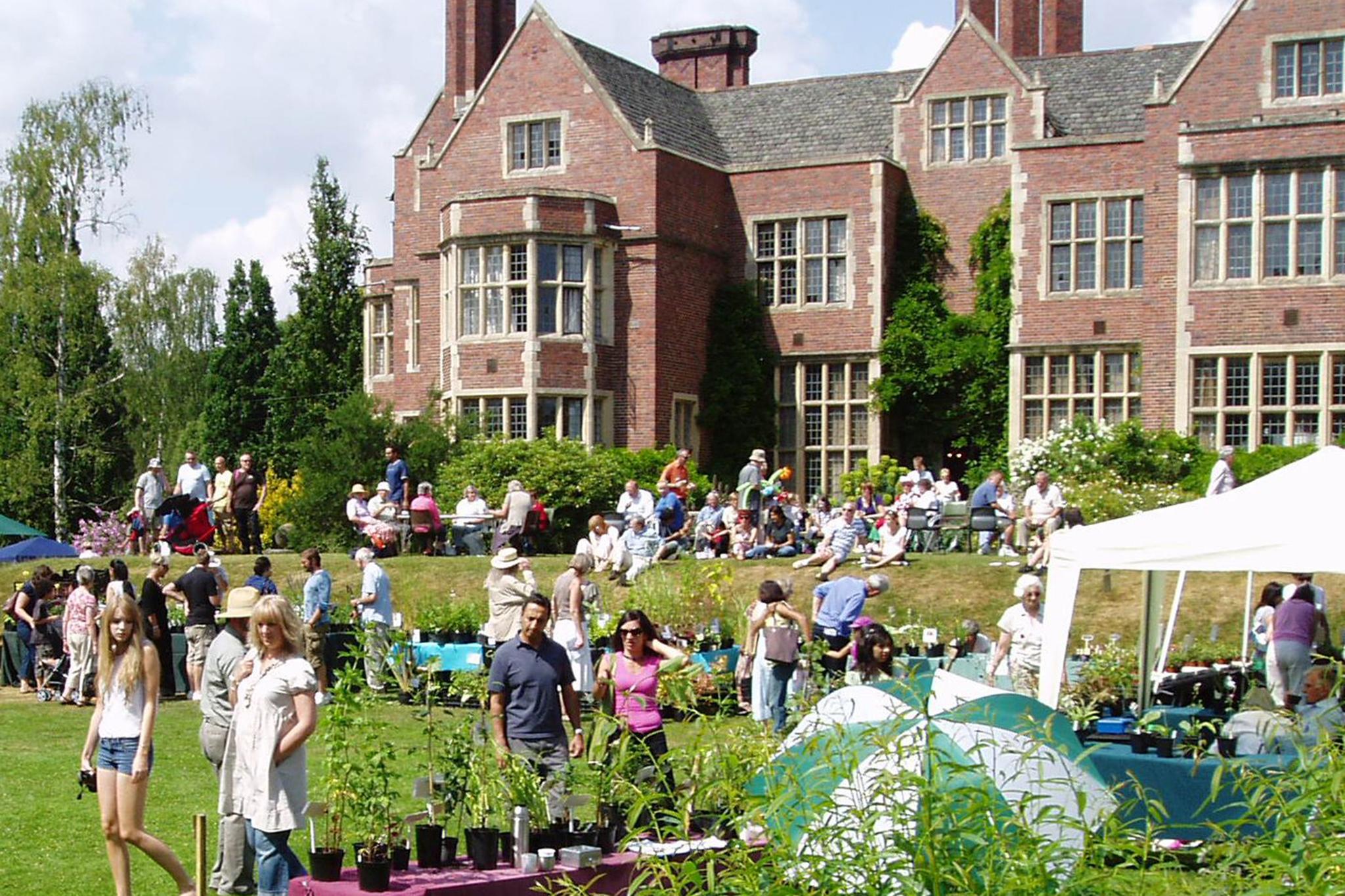 University of Leicester botanic garden, eitw