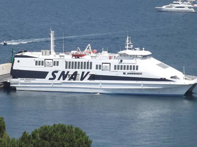 Ferry to Capri