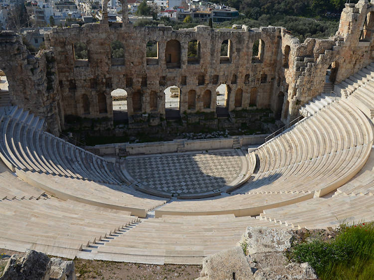 Acropolis and Odeon