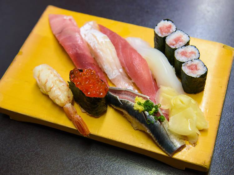 Feast on supersized sushi