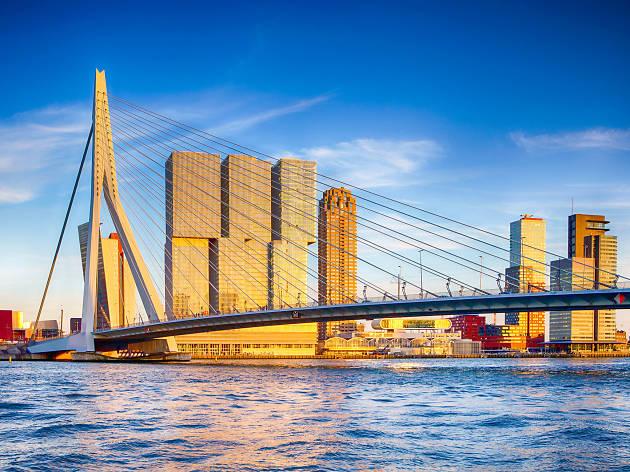 Erasmusbrug - Rotterdam - Netherlands