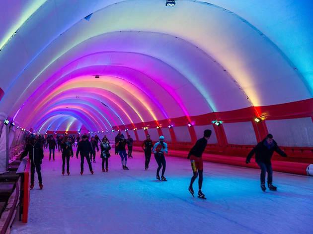 Schaatsbaan Ice Rink - Rotterdam - Netherlands