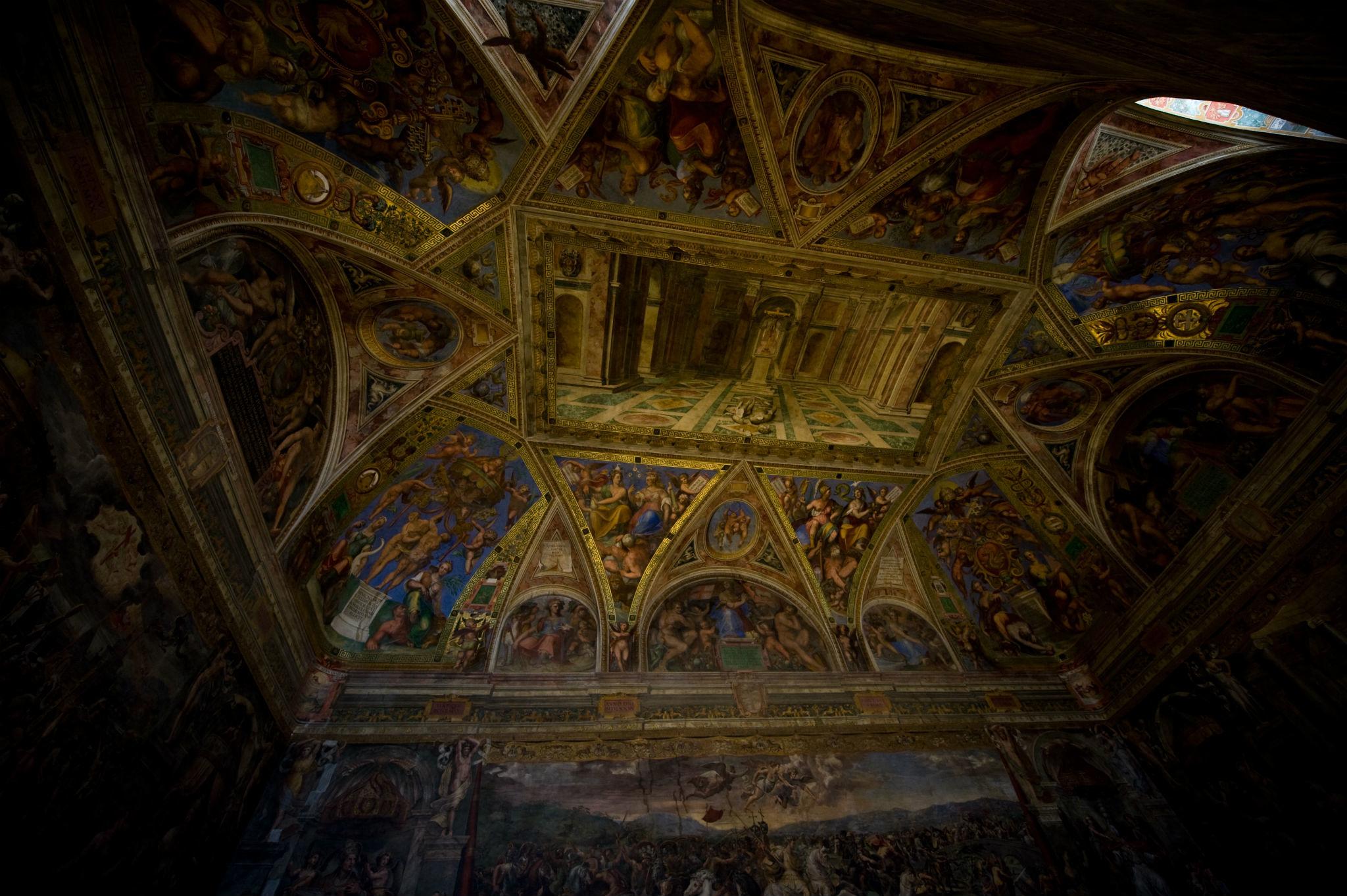 Sistine Chapel by night