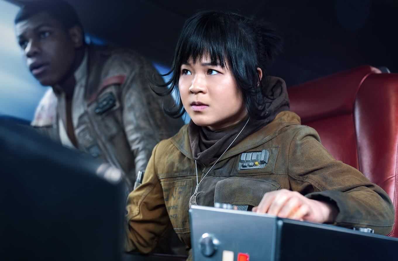 Rose Tico in Star Wars: Episode VIII - The Last Jedi