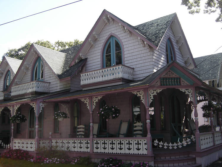 Wesleyan Grove National Historic District