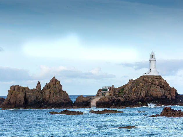 Corbiere Lighthouse - Jersey - UK