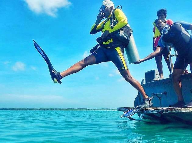 Scuba diving, eitw