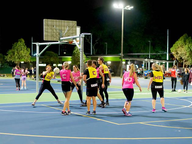 Centennial Parklands netball