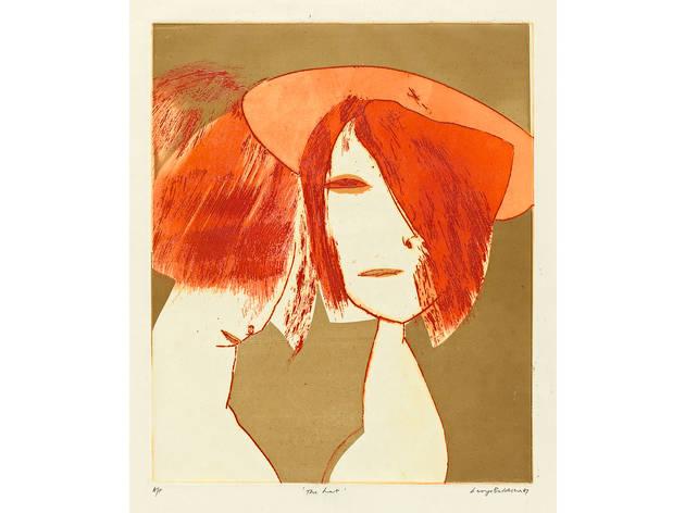 (George Baldessin 'The hat' 1967, © The Estate of George Baldessin )