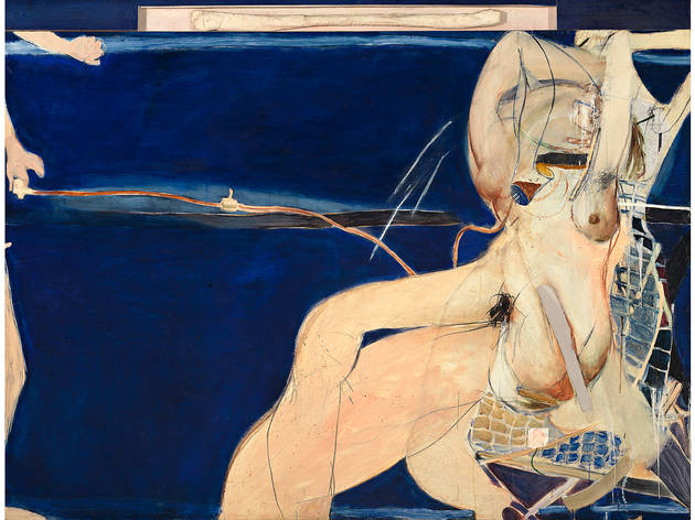 Brett Whiteley 'Christie and Hectorina McLennan' 1964−65, © Wendy Whiteley