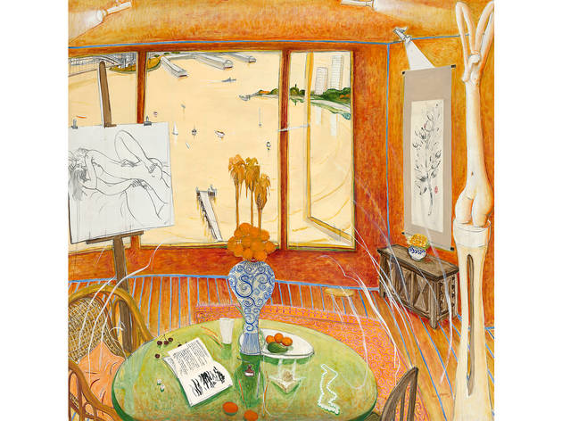 (Brett Whiteley 'Interior with time past' 1976, © Wendy Whiteley)