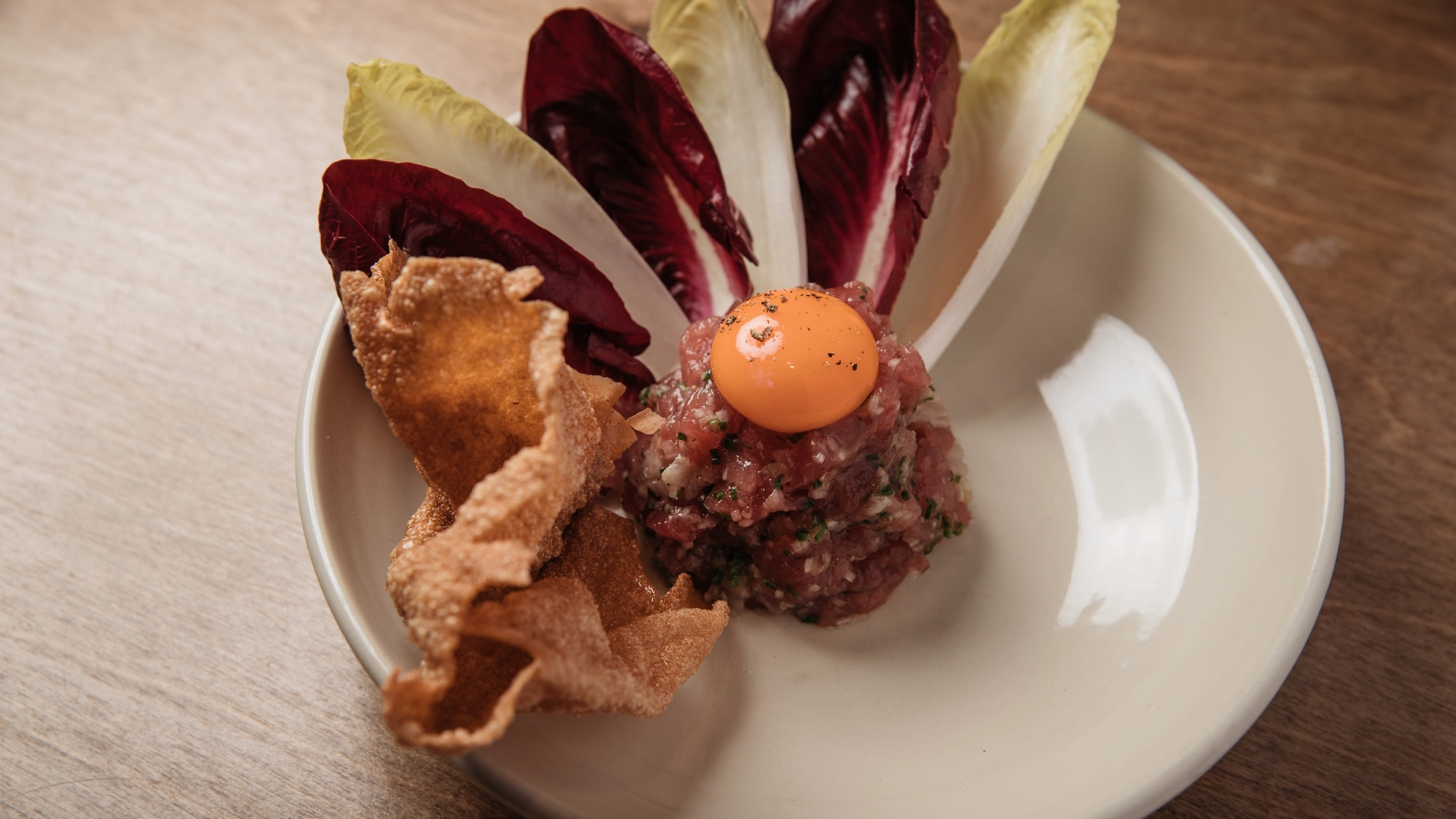 Tuna tartare at Saint Peter