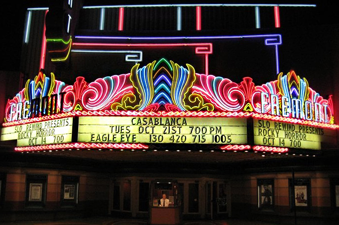 The Fremont Theatre movies in San Luis Obispo