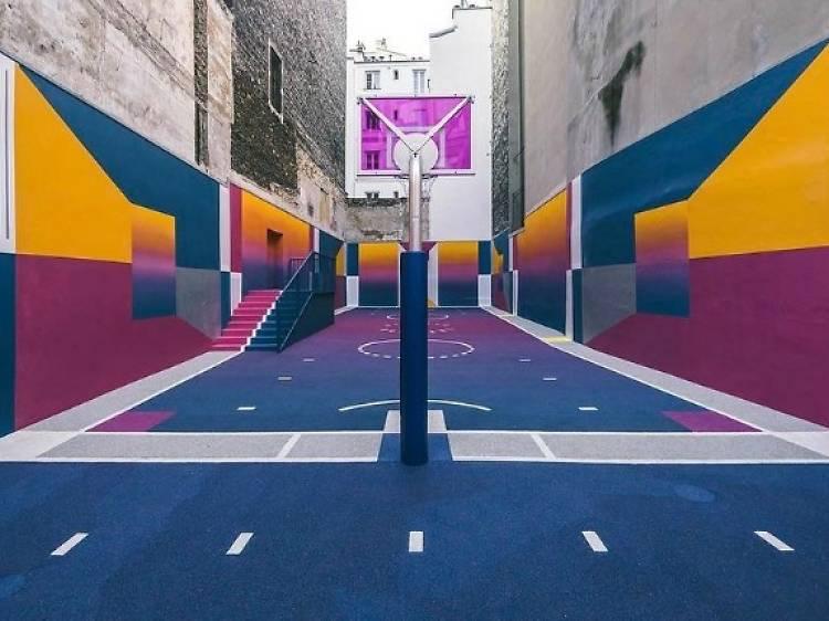 Les plus beaux terrains de basket de Paris