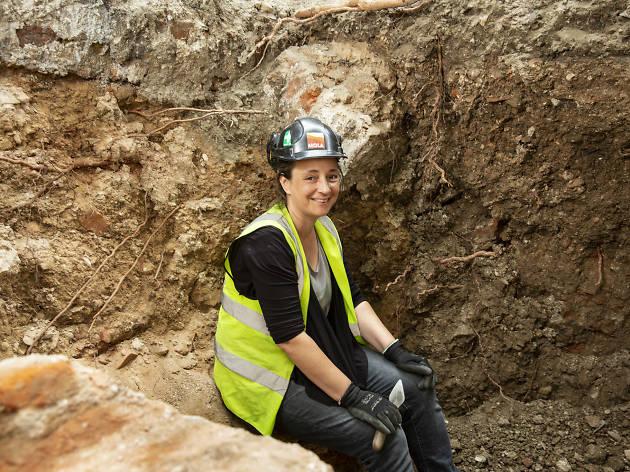 TYOK London archaeologist Sarah Watson
