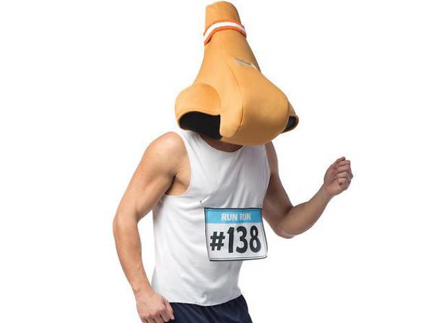 runny nose halloween costume