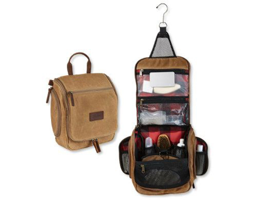 Best toiletry bags 15 Waxed canvas from LL Bean