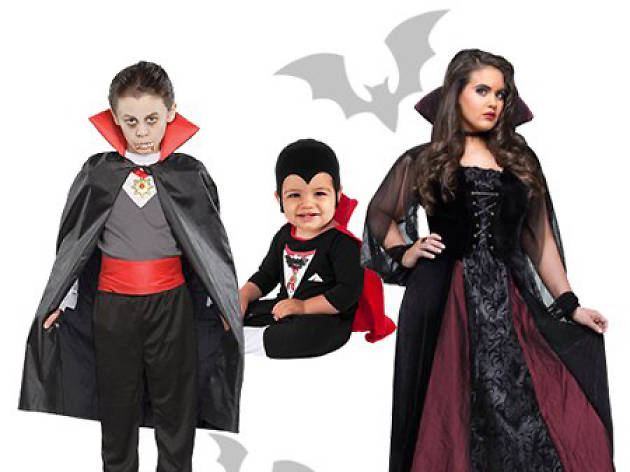 family vampires halloween costumes