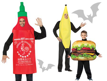 diner food halloween costumes