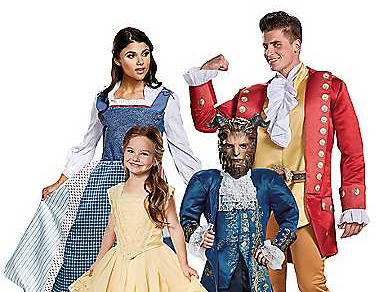 beauty and the beast halloween costume