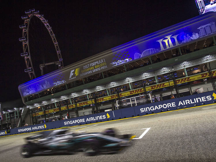 See the Formula 1 2018 Singapore Airlines Singapore Grand Prix