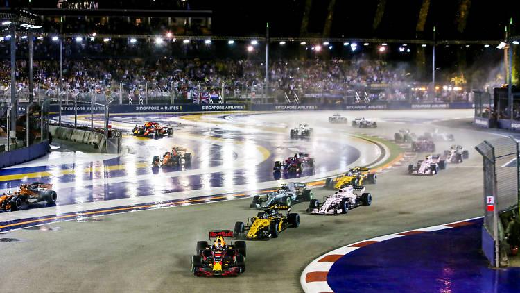 Singapore Grand Prix race
