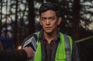 John Cho as David Kim in 'Searching'