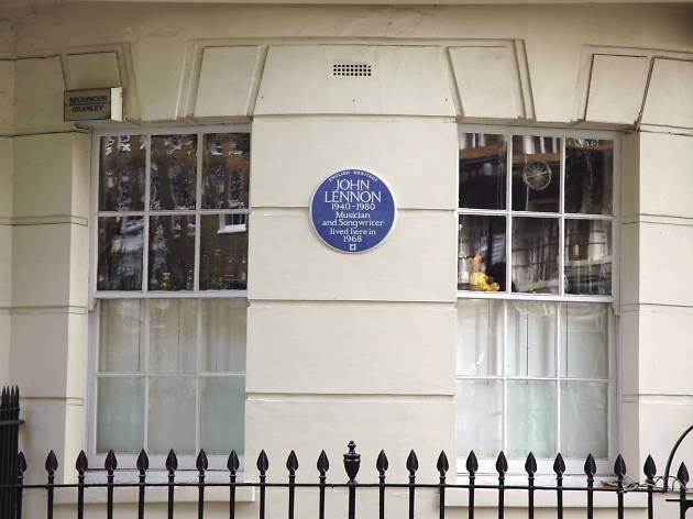 John Lennon Plaque