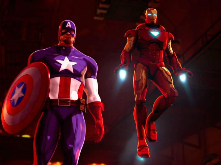 Marvel- Iron Man y Capitán América: Héroes unidos