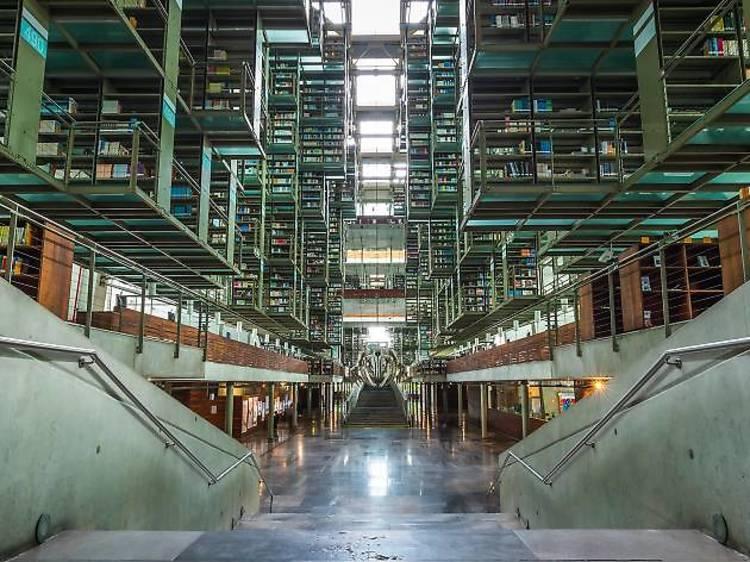City of Books at Biblioteca Vasconcelos