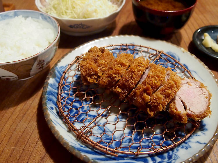 Bite into a perfect pork tonkatsu at Butagumi