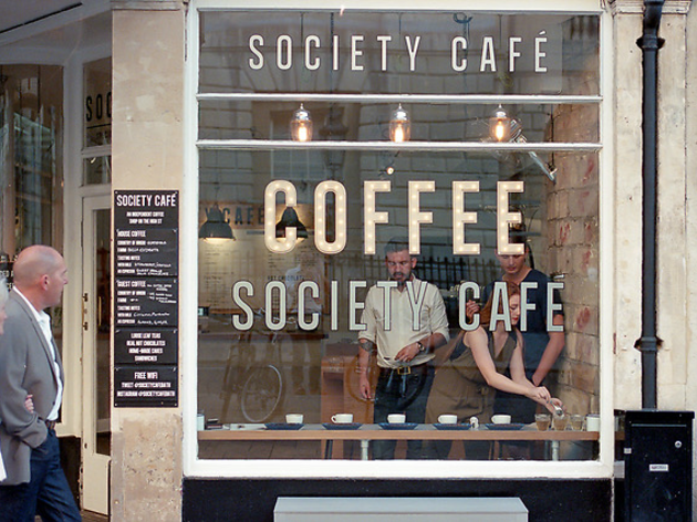 Society cafe bath