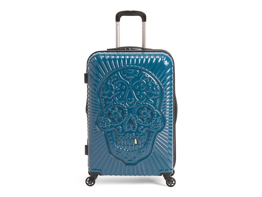 tj maxx skeleton suitcase