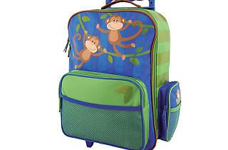monkey kids suitcase