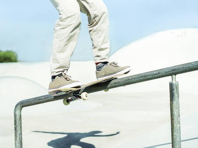 Folkestone Gardens skatepark