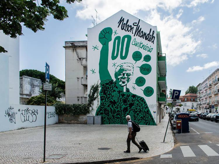 Nuno Saraiva: um ilustrador, cinco murais em Lisboa