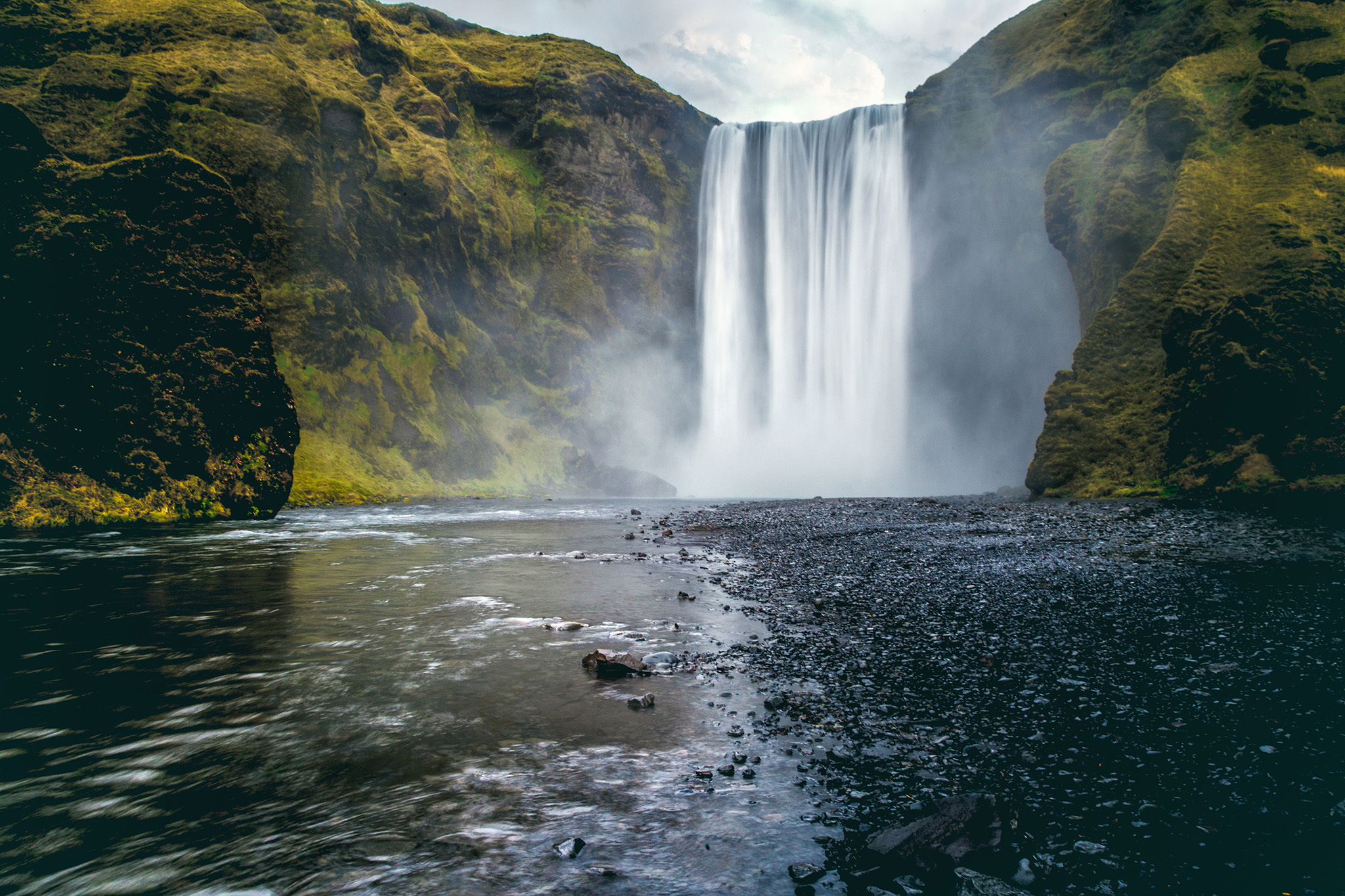 Skógafoss waterfall, eitw
