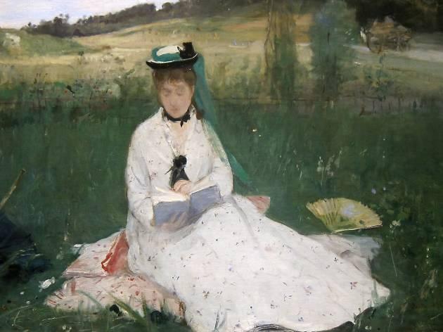 Berthe Marie Pauline Morisot, Reading, 1873