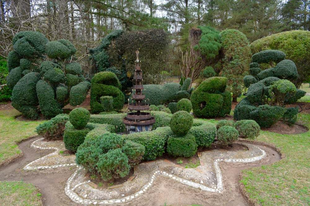 The Pearl Fryar Topiary Garden