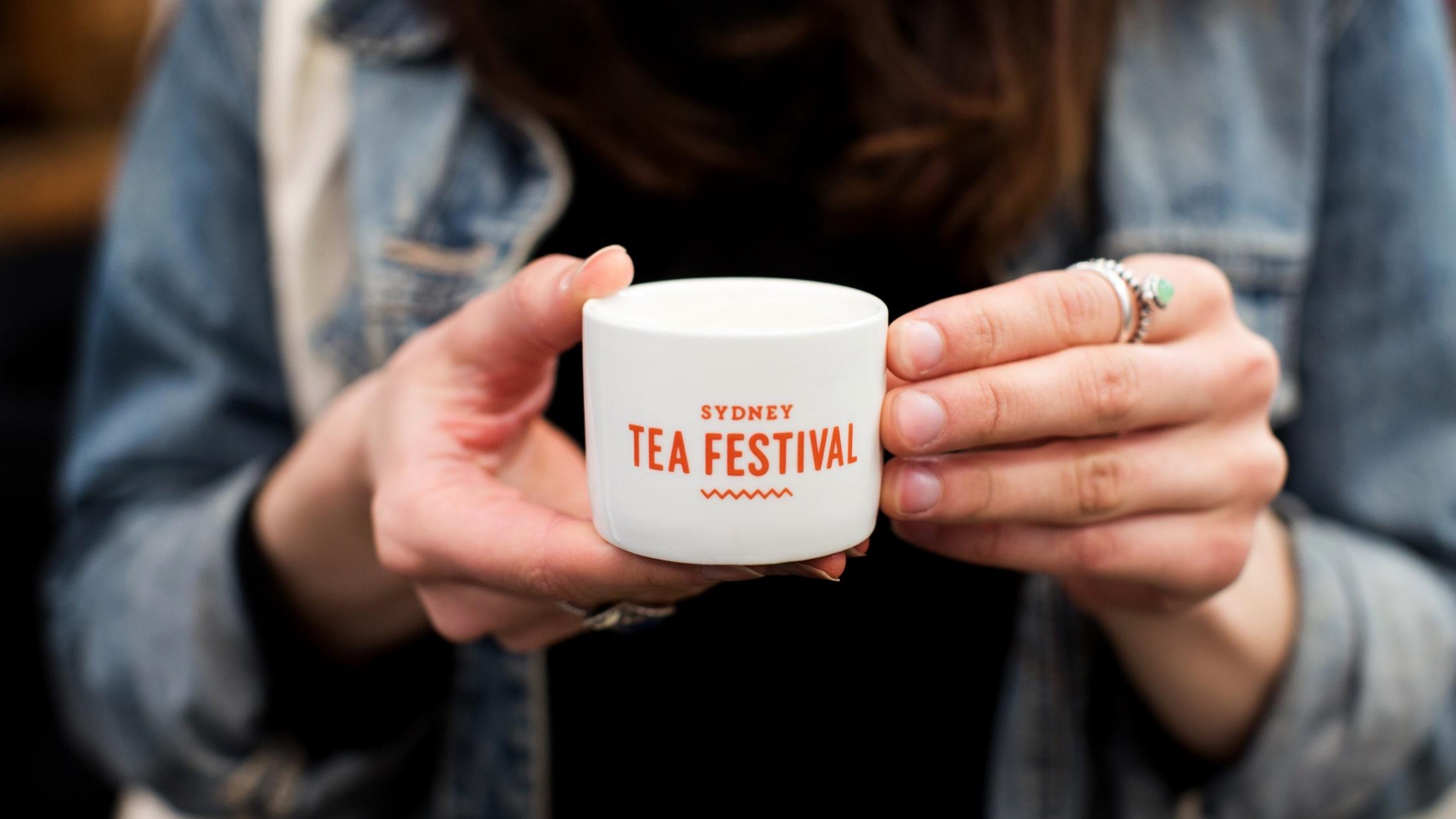 Cup of tea at Sydney Tea Festival