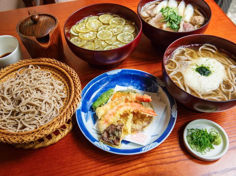 Best soba restaurants in Tokyo