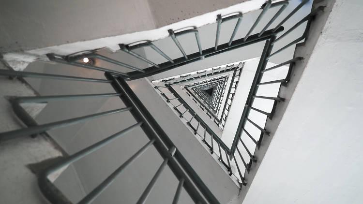 Hong Kong Arts Centre staircase