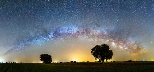 Estrellas fugaces - Vía Láctea