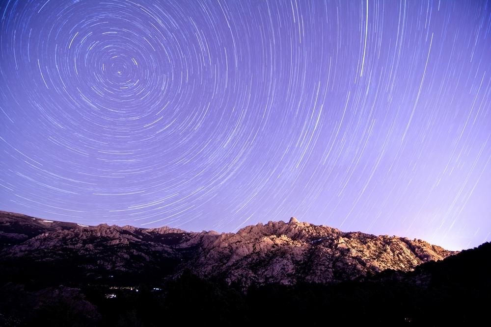 Estrellas en La Pedriza