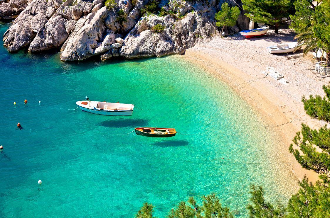 Makarska riviera beach Punta Rata