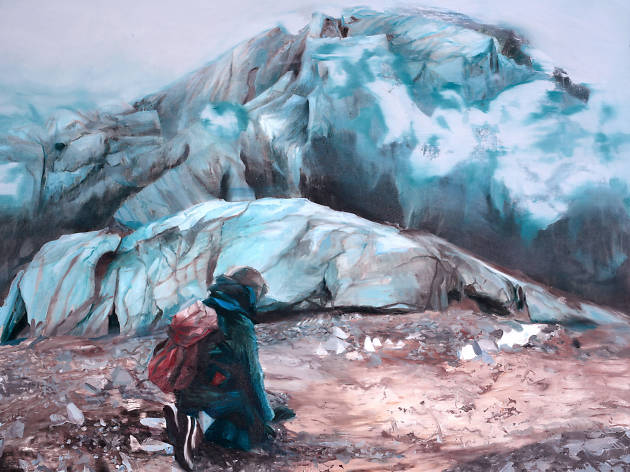 Zlatan Vehabović, Dark White Earth exhibition