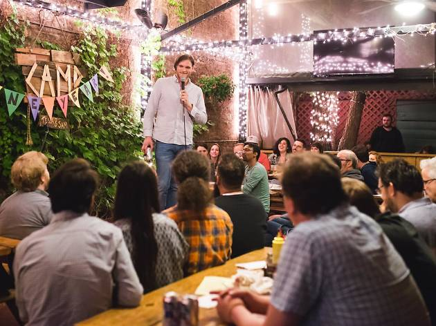 Camp a Comedy Show