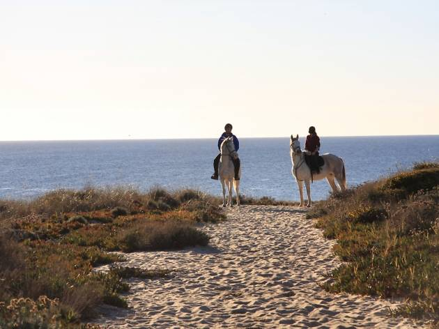 Passeios a Cavalo, Melides