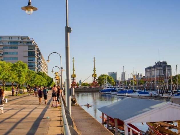 Feria Puerto Madero - Buenos Aires - Argentina